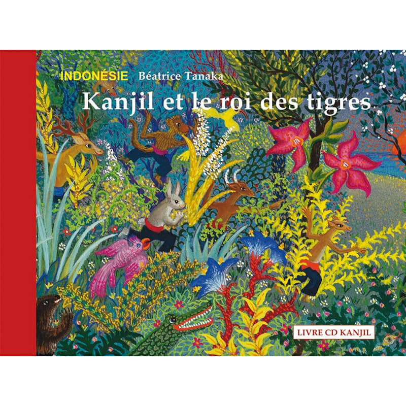Kanjil & le roi des tigres - couverture Album-CD KANJIL